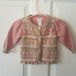 Monsoon sweater excellent condition 0 to 3 months